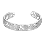 Beautiful Diamond Cuff bangles 5.00 Ct Solid Gold Natural Certified